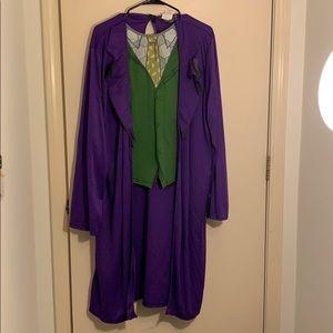 The joker dark knight costume